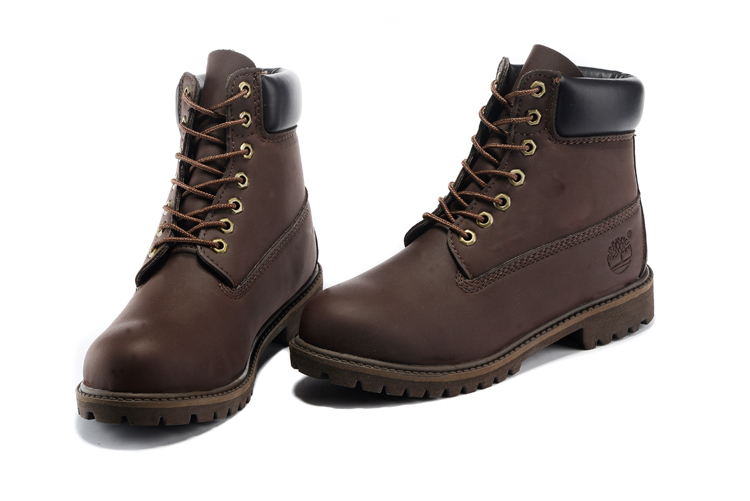 TIMBERLAND Men Classic 10061 Dark Brown Autumn Ankle Martin Boots,Man Male Leather Outdoor Casual Shoes Oversea Simple Version 2