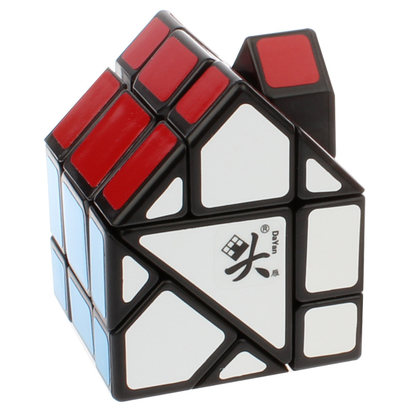 Puzzles & Games Dayan Bermuda House Puzzle Cube Black And White Pvc&matte Stickers Cubo Puzzle Classic Toys Gifts Free Shipping