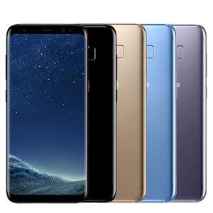Image 5 - Original Unlocked Samsung Galaxy S8 Plus 4G RAM 64G ROM 6.2 inch Qualcomm Octa Core 4G LTE Mobile Phone Fingerprint Android 7.0