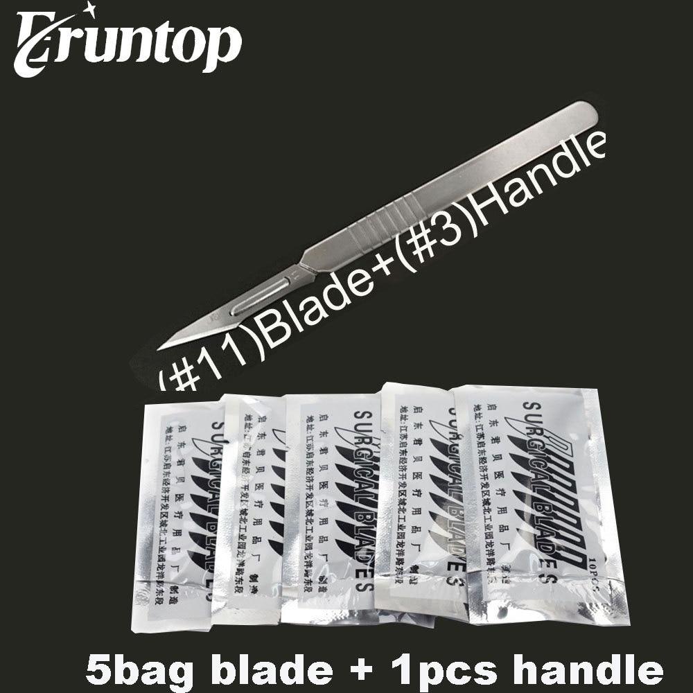 Carbon Steel Blades  for Phone Repair DIY tool Metal Handle Hobby Knife Pen Cutter