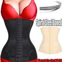 Body Shaper Steel Boned Waist Training Corset Waist Trainer Waist Cincher Underbust Slim Belt Women Shapewear