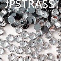 China Groothandel Oostenrijkse hotfix rhinestone SS10 kristal kleur 3mm flat terug losse crystal stenen met 1440 stks per pack