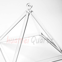Quartz Crystal Singing Pyramid 6 For Healing And Therapy