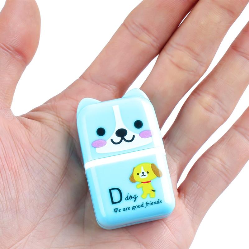New Children Kids Cute Cartoon Cat Animals Roller Eraser Rubber Stationery Student Gifts School Office Correction Supplies