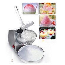 Small home use ice crusher electric ice breaking machine shaver snow cone maker machine