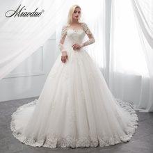 d8459a91e7 Suknia ślubna w kolorze kremowym długa szata de wieczór suknia dla panny  młodej trouwjurk suknia abito