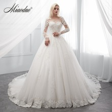 Ivory Wedding Dress long robe de soiree bride Dress