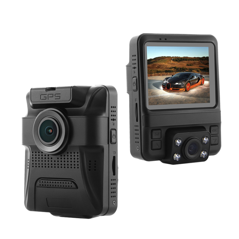 GS65H Mini Dual Lens Car DVR Camera 1080P Full HD Dash Cam Novatek 96655 Video Recorder G-sensor Night VisionGS65H Mini Dual Lens Car DVR Camera 1080P Full HD Dash Cam Novatek 96655 Video Recorder G-sensor Night Vision
