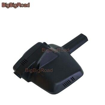 BigBigRoad For Peugeot 408 2015 2016 2017 2018 Car wifi DVR Video Recorder hidden Installation dash cam FHD 1080P