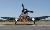 Scale SkyFlight LX EPS 1.6M F4U Corsair Propeller RC Plane RTF Model Folded Wing W/ Motor Servos ESC Battery TH03126