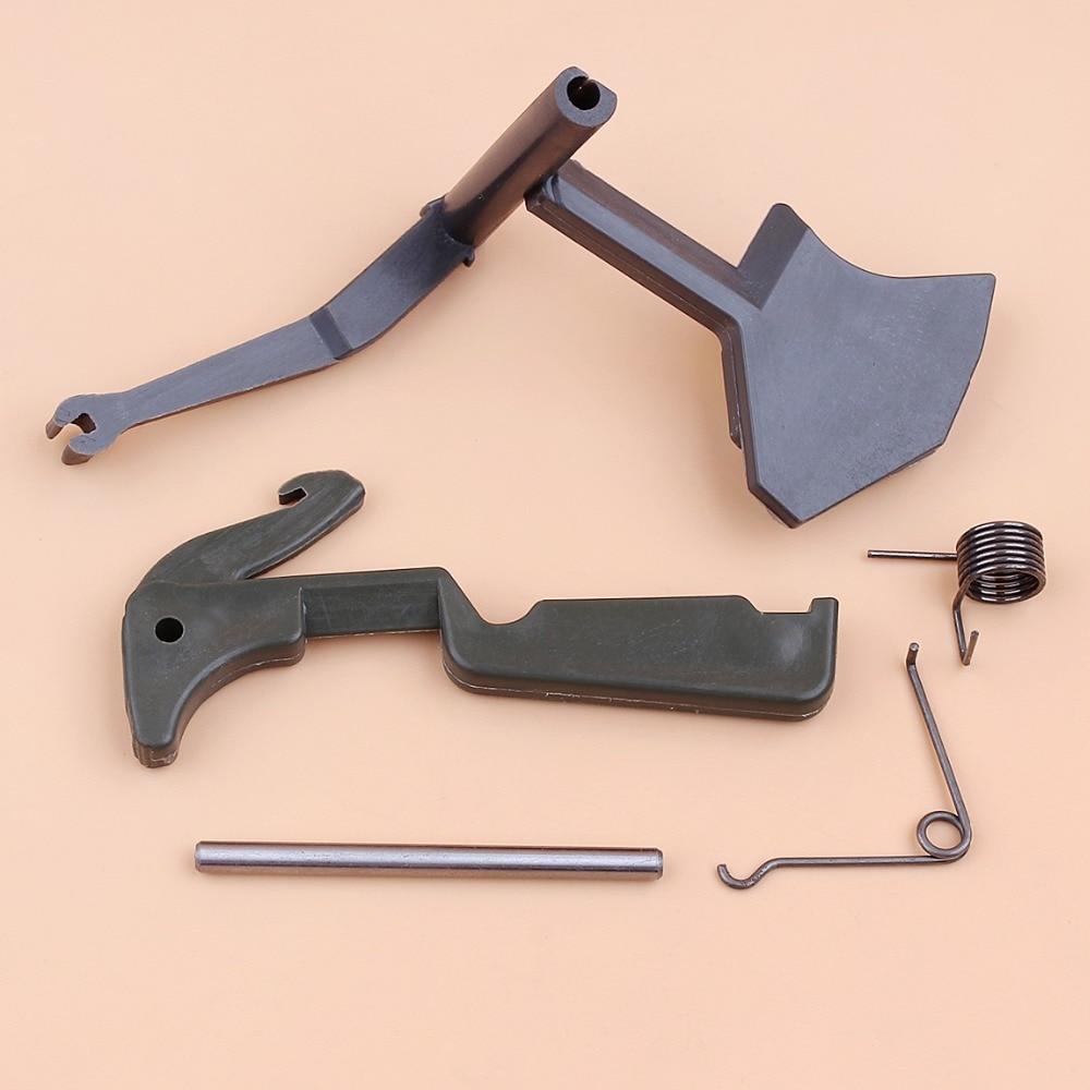 Throttle Trigger Latcher Spring Pin Kit For HUSQVARNA 268 272 266 61 66 Chainsaw