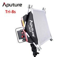 Tri-8s Aputure Amaran led video işığı paneli Renk Sıcaklığı 5000 K Ile 2 adet NP-F970 Pil + Kolay Kutusu V montaj