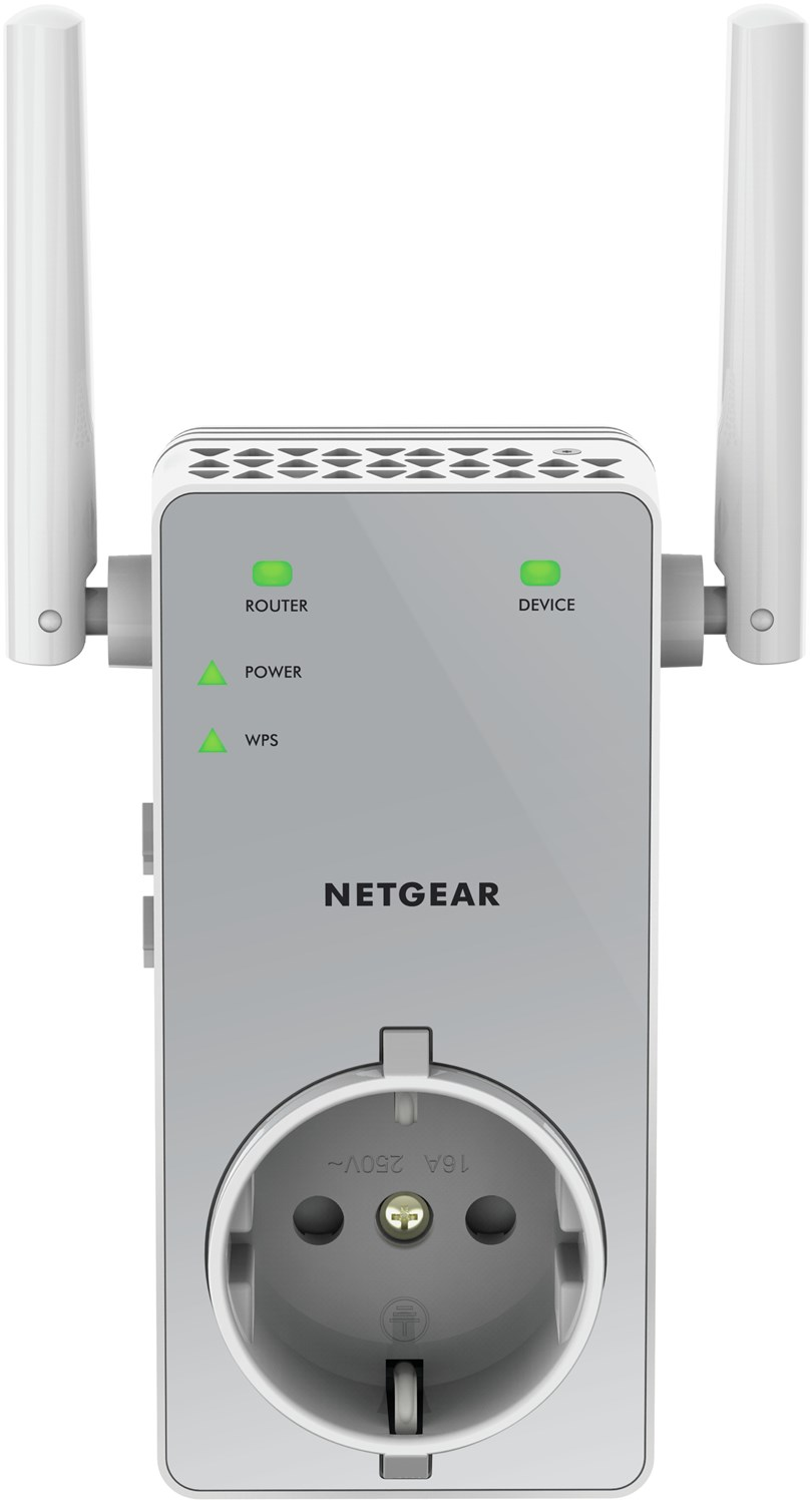 Netgear AC750, transmetteur réseau, 10/100Base-T (X), point d'accès réseau