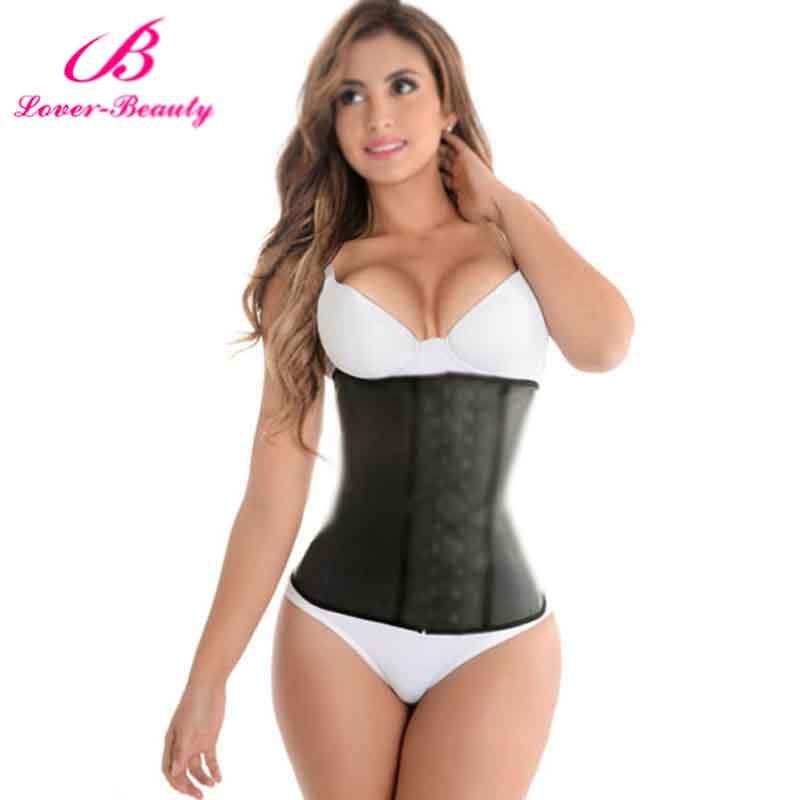 Corsé para amantes de la belleza talla grande gainel látex affinant la taille cintura de látex acero deshuesado cintura entrenador corsés y Bustiers