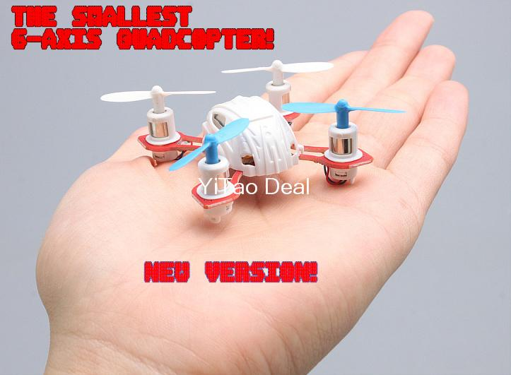 New Version MoonTop M9911 2 4G 4CH 6 Axis GYRO Nano RC Quadcopter RTF RC Helicopter