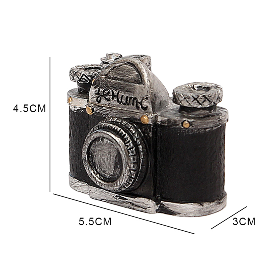 NOCM-Vintage old creative resin mini new camera small ornaments desk jewelry Home decorations childrens gifts shop shooting p