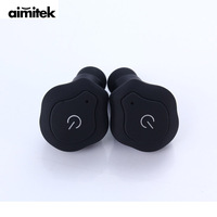 Aimitek TW 13 TWS Mini Bluetooth Earphones Twins True Wireless Earbuds Sports Stereo Headsets Handsfree With