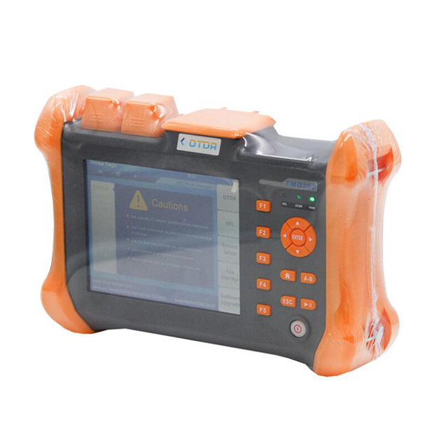 ZHWCOMM OTDR TMO-300-SM-32/30dBm-120KM Touch Screen Optical Time Domain Reflectometer Integrated VFL
