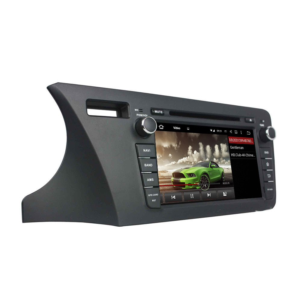 8 Android 5.1.1 Quad Core Car GPS Navigation Car DVD Player For Honda City 2014 Support Steering Wheel Control Can-Bus
