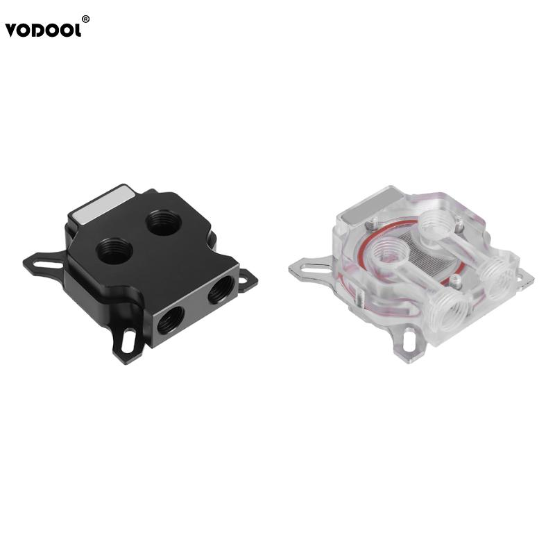 GPU Water Block Cooling Video Graphics Card Micro Channel Fast Water Cooling Cooler Radiator for 43x43mm/53x53mm Hole Distance high quality transparent graphics card gpu water cooling head platform common gpu water cooling block waterblock liquid cooler