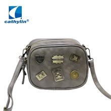 Small bag 2016 new Handbag Satchel Satchel all-match mini version of Japan and South Korea tide shoulder badge small package