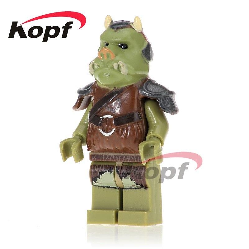 Single Sale Gamorrean Guard Ewok Attack Logray Battle Of Endor 75005  Wars Bricks Building Blocks Children Gift Toys PG742