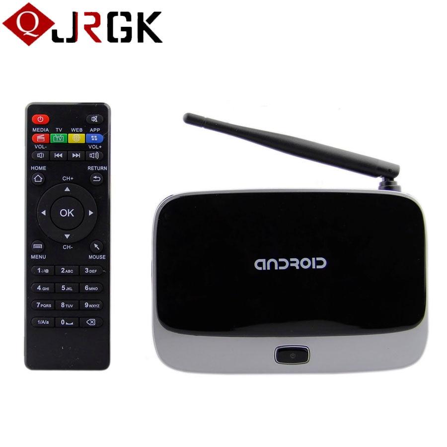 Q7 Android 4.4 TV Box CS918 Full HD 1080P RK3128 Quad Core Media Player 2GB/8GB XBMC Wifi Bluetooth Smart TV Box hd 4kx2k s905 quad core 2 4ghz wifi