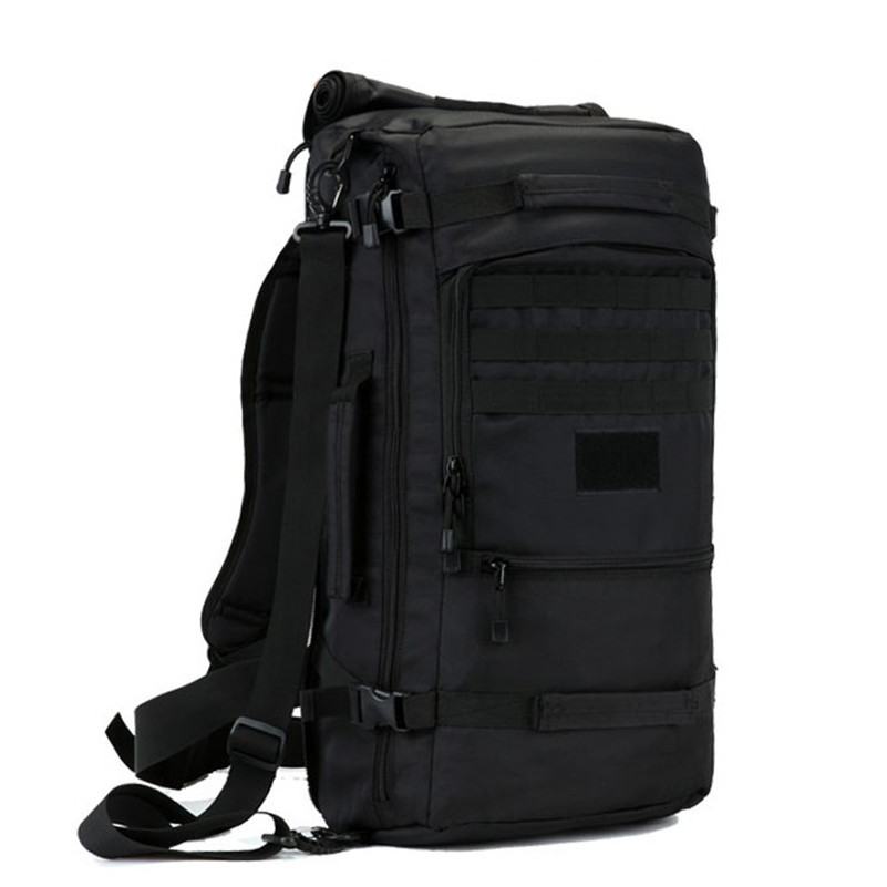 OURCIAO Hot 50L High Quality Nylon Bag Military 17 Inch Laptop Men Backpack Travel Rucksack Bags