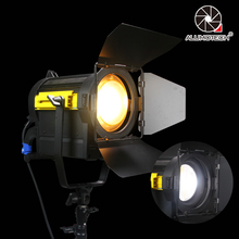 ALUMOTECH Daylight 150W LED Fresnel Lens Spot Continuous Lamp For Film Camera Video Studio Photography Lighting