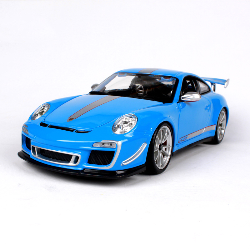diecast model 1 18 911 gt3 rs 4 0 racing car metal racing. Black Bedroom Furniture Sets. Home Design Ideas