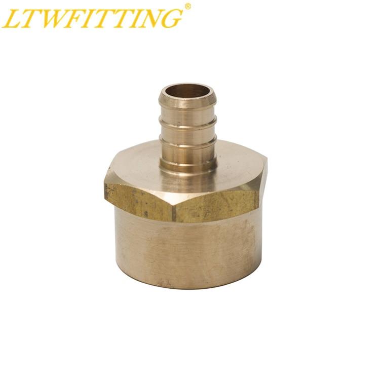 цена на LTWFITTING Lead Free Brass PEX Adapter Fitting 1/2