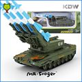 Mr.Froger Air Defense Missile Tank Model Alloy Car Model Refined Metal Vehicles Truck Decoration Classic Toys Military Arms KDW