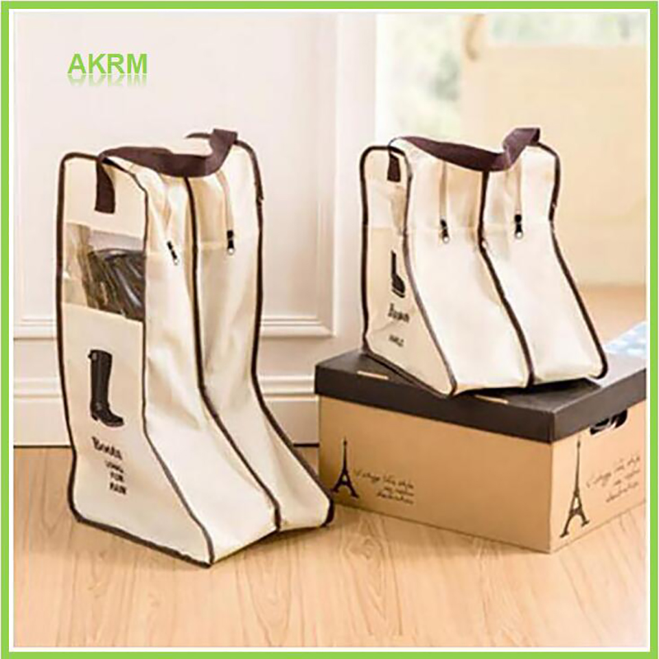 Long Boot Shoes Storage Bag Protector Organizer Long Riding Rain Ankle Boots Leather Shoes Storage Bag Organizer Travel Case