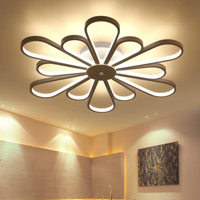 new design acrylic modern led ceiling lights for living. Black Bedroom Furniture Sets. Home Design Ideas