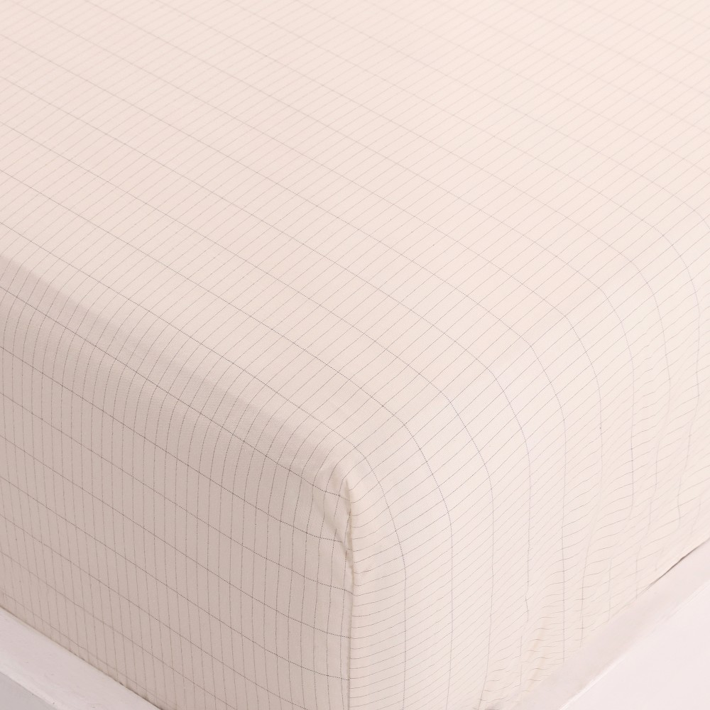grounded Sheet Conductive Silver Antimicrobial Fabric Conductive fabric  EARTHING Fitted Sheet  Twins 99*203cm 1china earthing fitted sheet 198x203cm silver antimicrobial fabric conductive fabric new health grounding line mattress cover