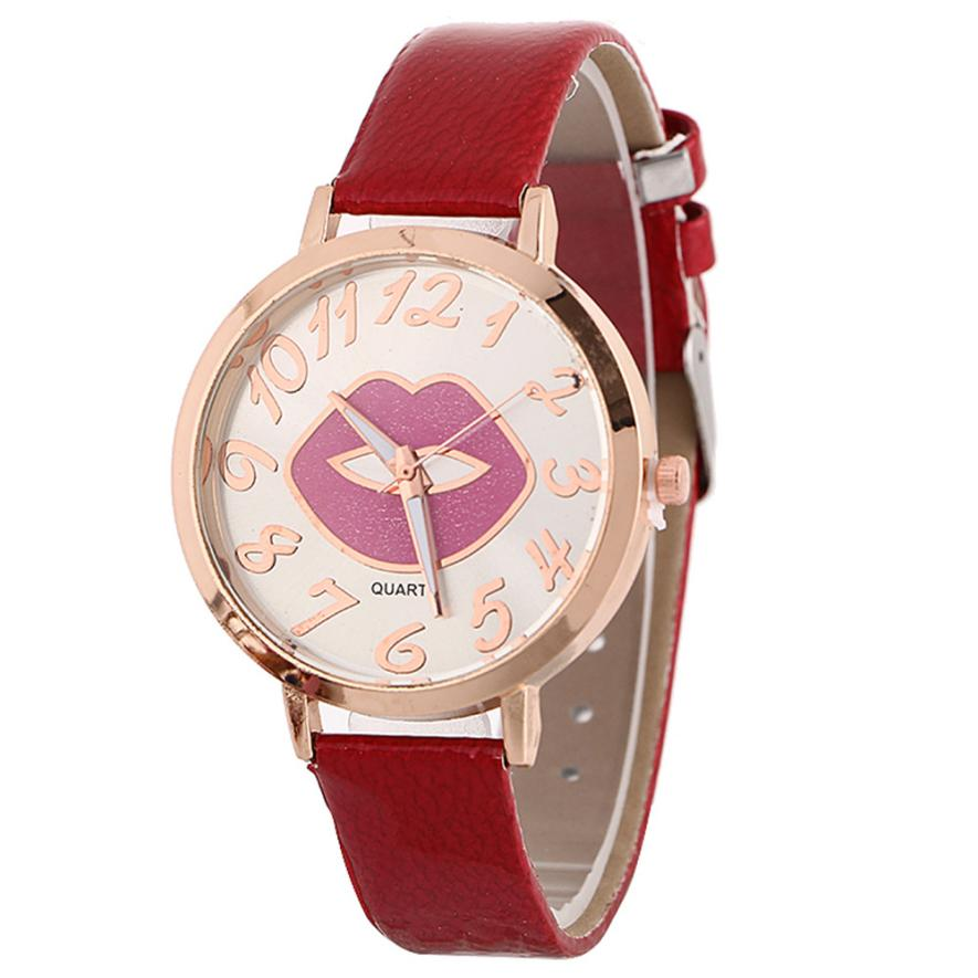 Damesmode Horloge Nieuwe Patroon Quartz Horloge Lederen Band Riem Tafel Horloge Klok Felogio Relogio Feminino Hoge Kwaliteit M50 Nourishing The Kidneys Relieving Rheumatism