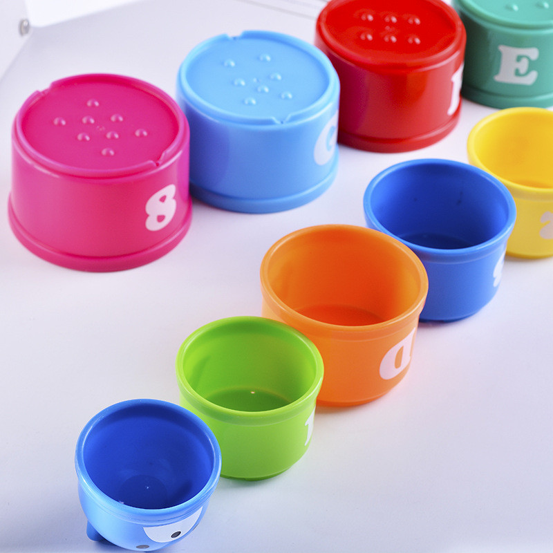9pcs-set-Educational-Baby-Toys-6-24-Month-Figures-Letters-Foldind-Stack-Cup-Tower-Children-Early