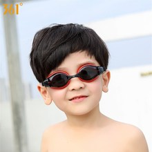цена на 361 Children Swim Goggles with Case Kids Swimming Glasses for Pool Clear Lens Water Glasses Anti Fog Silicone Swimming Eyewear