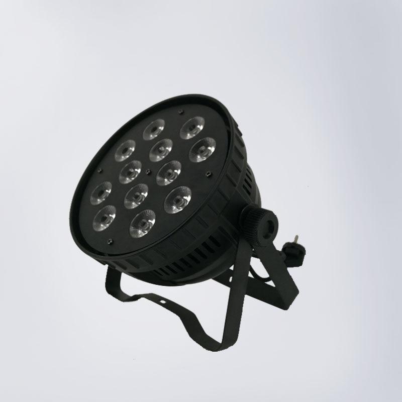 Aluminum alloy LED Par 12x18W RGBWA+UV 6in1 Lighting Can Par led spotlight dj projector wash lighting stage lighting led par 18x15w rgbwa 5in1 led par can par led spotlight dj projector wash lighting stage uplight aluminum alloy