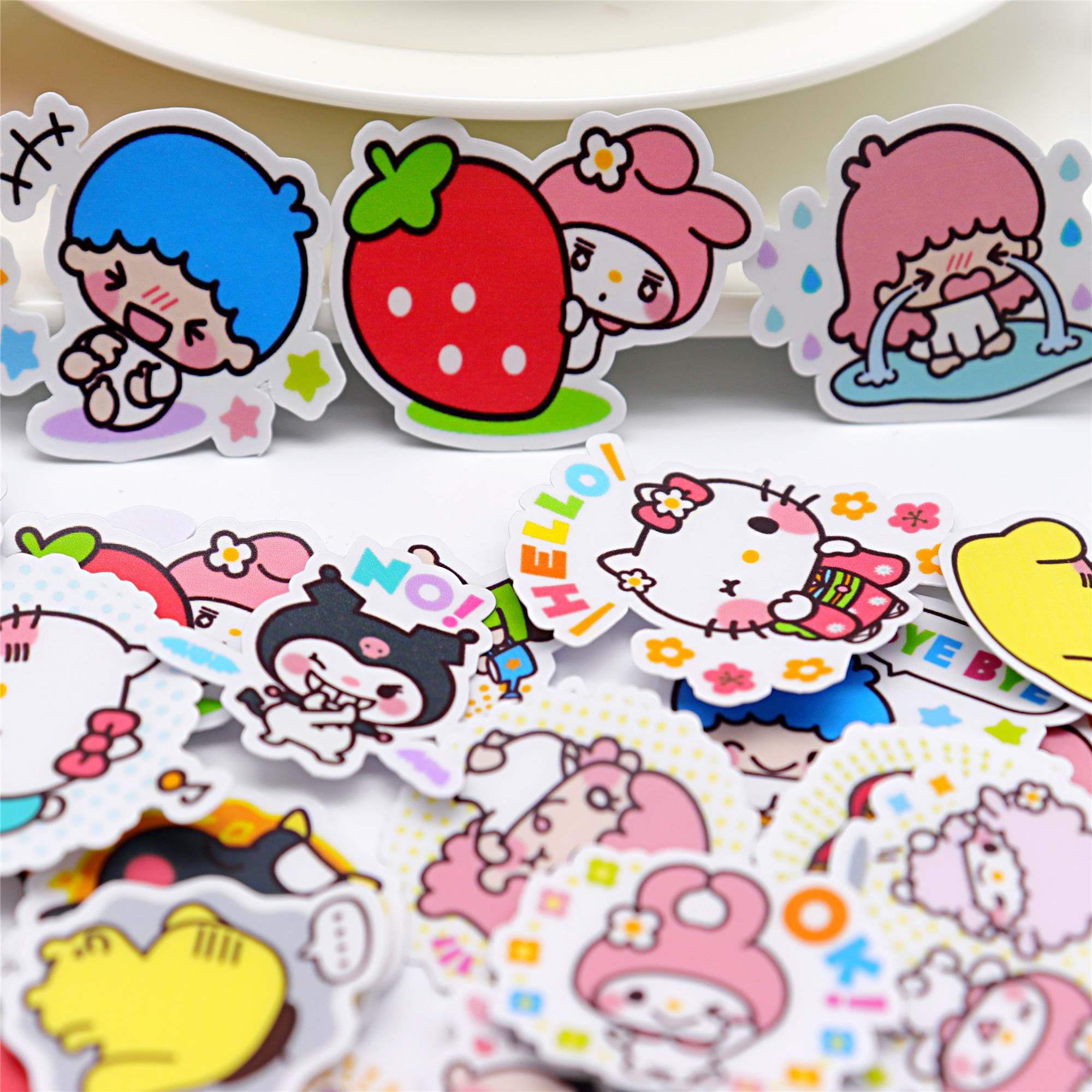 40pcs Creative Kawaii Self-made Love  Girl Stickers Beautiful Stickers /decorative Sticker /DIY Craft Photo Albums