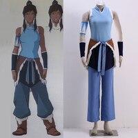 Athemis Avatar The Legend of Korra The Last Airbender Cosplay Korra cosplay costume custom made size For Halloween