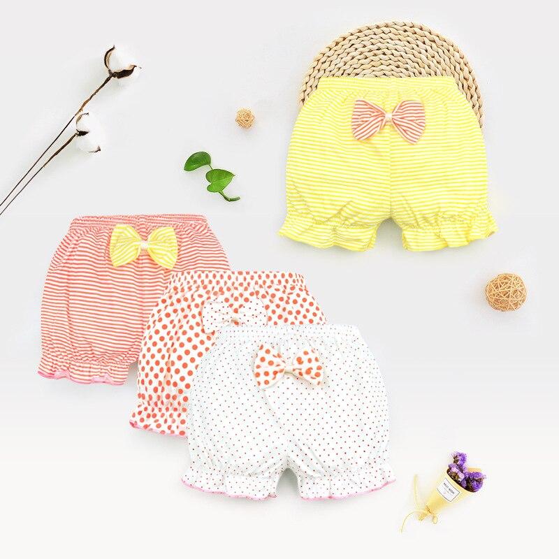0-3y Baby Meisjes Shorts Kleding Peuter Jongen Meisje Zomer Korte Broek Baby Katoenen Onderbroek Pasgeboren Baby Brood Broek Pp Bodem