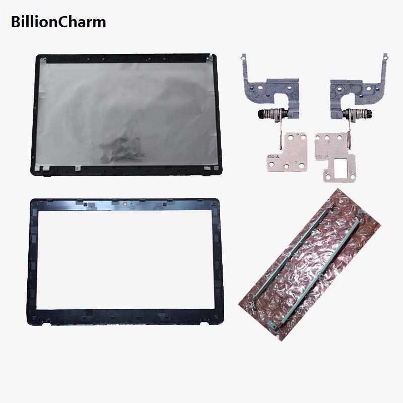 Laptop cover For Asus K52 A52 X52 K52f K52J K52JK A52JR X52JV A52J 13GNXZ1AM044-1 LCD Back Cover/LCD front Bezel/Hinges/bracket