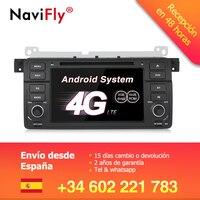 Склад в Германии! Android 7,1 автомобиль dvd радио GPS для BMW E46 M3 3 серии головное устройство автомобильного радиоприемника с CAN BUS BT WI FI 4 аппарат не пр