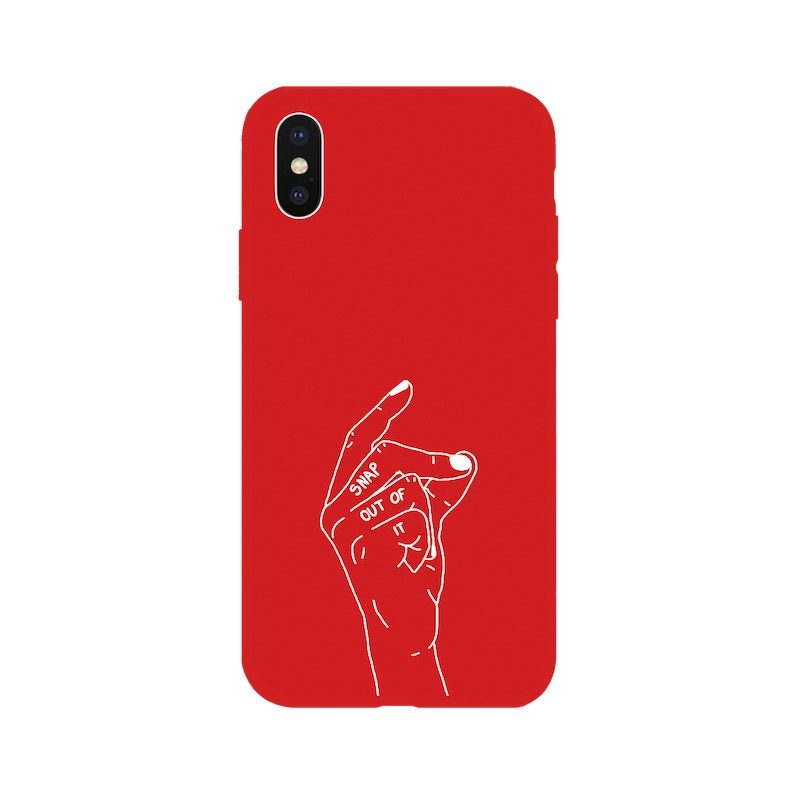 TPU LINE snap red