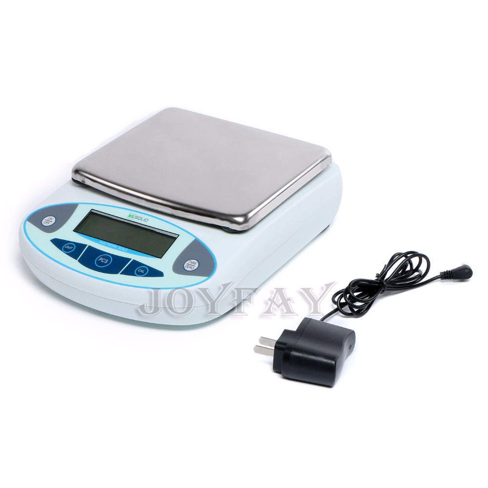U.S. Solid 15 kg 0.1 g Lab Weight Scale Analytical Balance Precision electronic Digital  Scale CE One Year Warranty