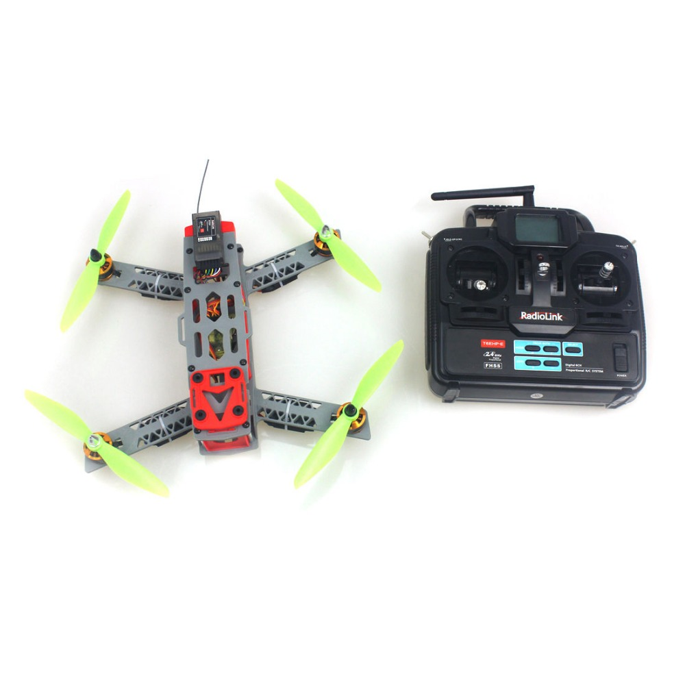 F16051-B JMT FPV 260 Across Frame Small Quadcopter with Motor ESC Flight Control Opensource 6Ch TX & RX RTF Drone FS carbon fiber mini qav250 c250 fpv quadcopter frame motor 12a esc cc3d flight control c250 quadcopter with fs t6 controller