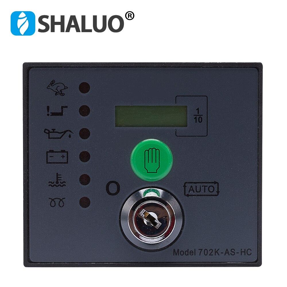 Auto start dse Generator Controller 702 Key Start Module diesel brush brushless genset electronic control board