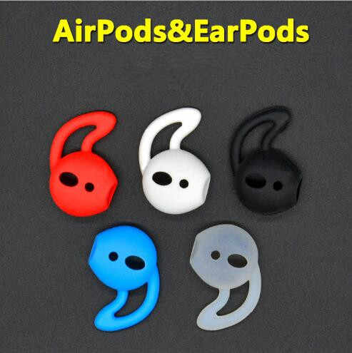 Ear pods Headphone Hook Earhook Accessories Tws I10 I9s Tws Earphone Case Earbuds Cover for Apple iphone X 8 7 Airpods 6 Plus