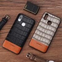 Luxury Phone Case For Xiaomi Mi 9 6 8 SE Explorer A1 5X Max 3 Mix 2S Cases Crocodile Texture Stitching Cowhide Back Cover capas